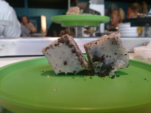 Oreo Fudge... By far the best thing I had there (I'm  huge fan of fudge)